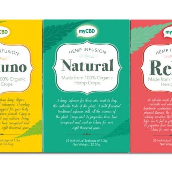 CBD tea Natural 2