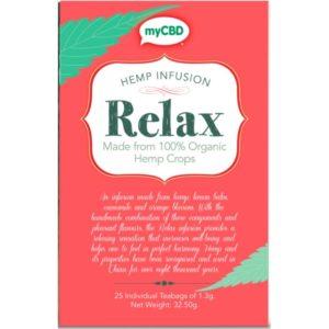 CBD tea relax