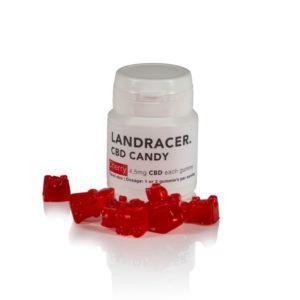 Landracer gummy bears cherry travelsize